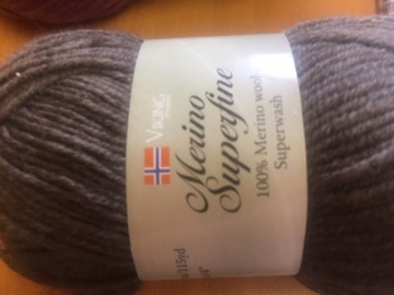 Merino superwash Brun